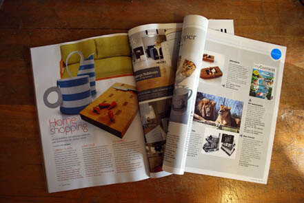 More magazine mentions