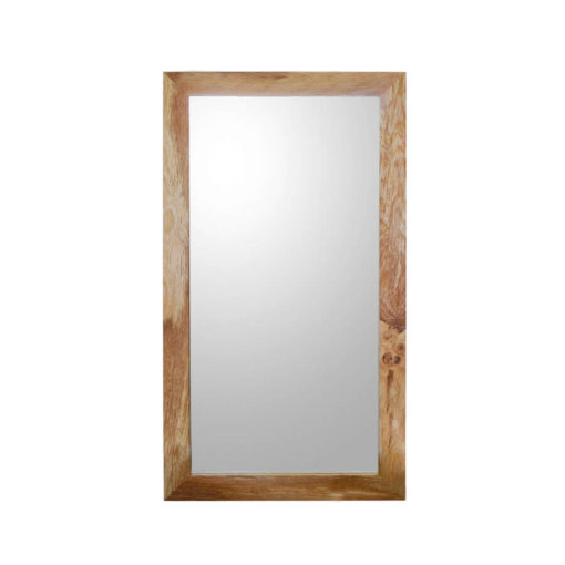 Medium sized Oak framed mirror
