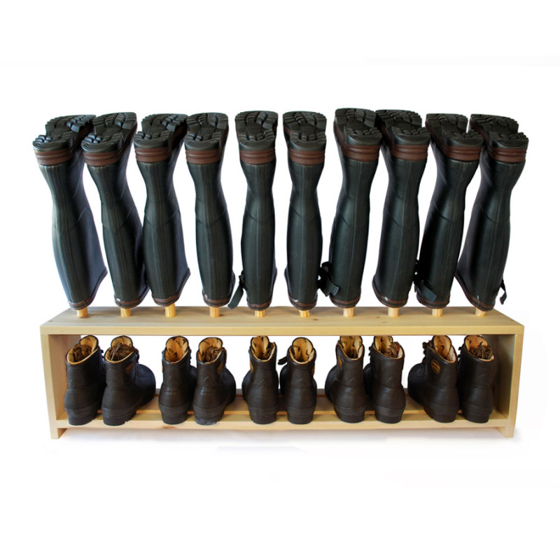 welly boot and shoe rack 5 pair boot and saw