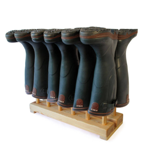 Welly Boot Stand for 6 pairs of wellingtons