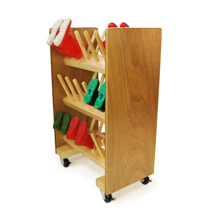 Nursery School Welly Boot Rack