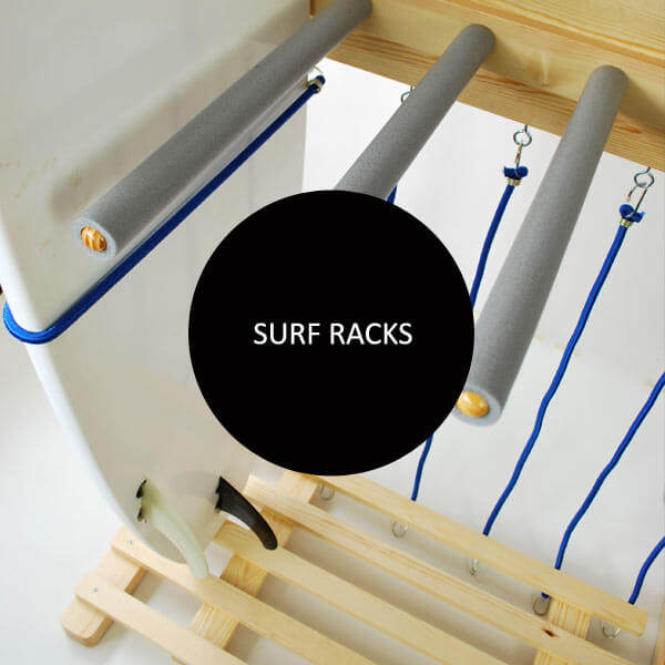 Wooden Surfboard Racks