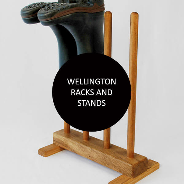 Wellington racks and welly boot stands