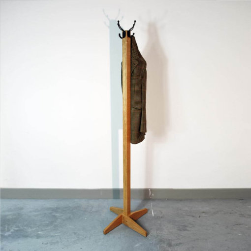 Oak Coat Stand in solid Oak